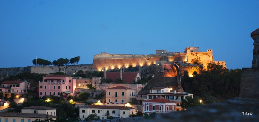 Forte Falcone all'alba
