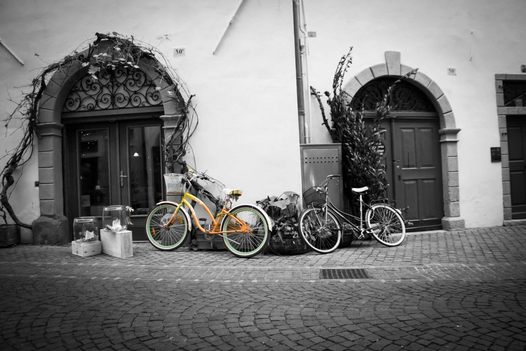 Bicycles in Bozen